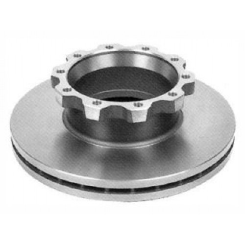 Disks bremžu d-438x45/H135-10 O