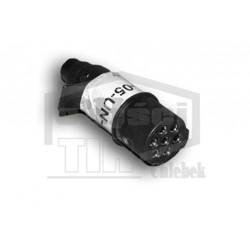 Dakša plastmasas N-TYPE 7-POL 24V ISO1185